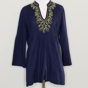 Lilly Pulitzer | Sarasota Embroidered Tunic | S